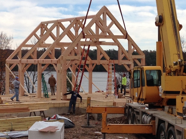 Timber Frame Homes 13