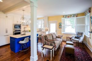 Shawnee Home Addition Kitchen & Dining room